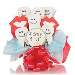 I Smile 4 U! Cookie Bouquet