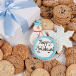 Winter Holidays Signature Cookie Gift Box