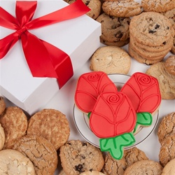 Red Roses Signature Cookie Gift Box