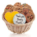 Thank You Beary Much Cookie Gift Basket