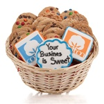 Your Logo/Artwork Cookie Gift Basket