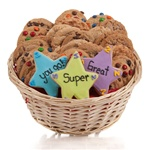 Super Stars Cookie Gift Basket