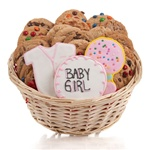 It's A Girl! Cookie Gift Basket