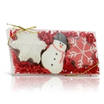 Holiday Red Cookies - Gift Box