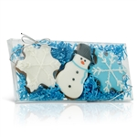 Winter Blue Cookies - Gift Box