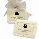 Edible Cookie Cards™-Individually Gift Bagged & Tied With Ribbon