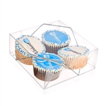 LOGO CUPCAKE BOX OF 4