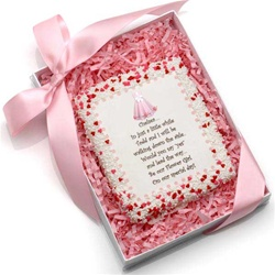 "Edible Cookie Cards™- ""Will You Be My Flower Girl?"""