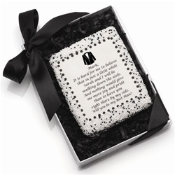 "Edible Cookie Cards™- ""Will You Be My....?""- Tuxedo Edtion"