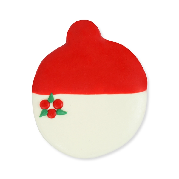 Chocolate Dipped and Decorated Shortbread Cookies - Ornaments