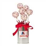Logo Truffle Cake Pops Bouquet of 6
