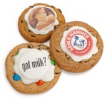 Delicious Image™ Gourmet Photo/Logo Cookies- Individually Wrapped