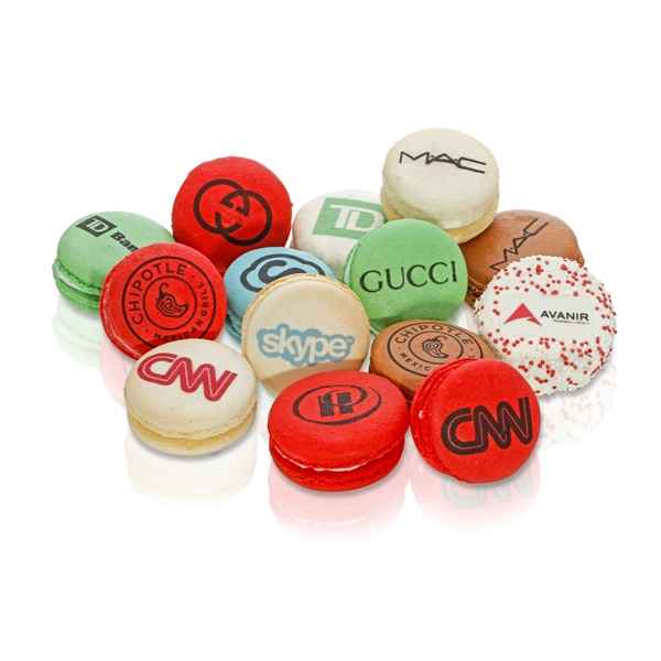 Direct Imprint Logo Macarons