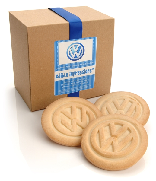 Edible Impressions Logo Cookies - GIFT BOXED SET OF 12