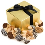 Classic Hand-Dipped Gourmet Fortune Cookies- Gift Box of 12