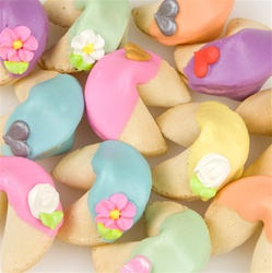 "Rainbow Fortune Cookies-Individually Wrapped -""Bulk"""