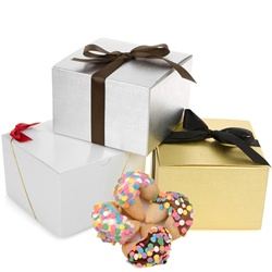 Festive Confetti Fortune Cookies-Gift Box of 12