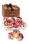 Heart Sprinkles Fortune Cookies -Gift Boxed