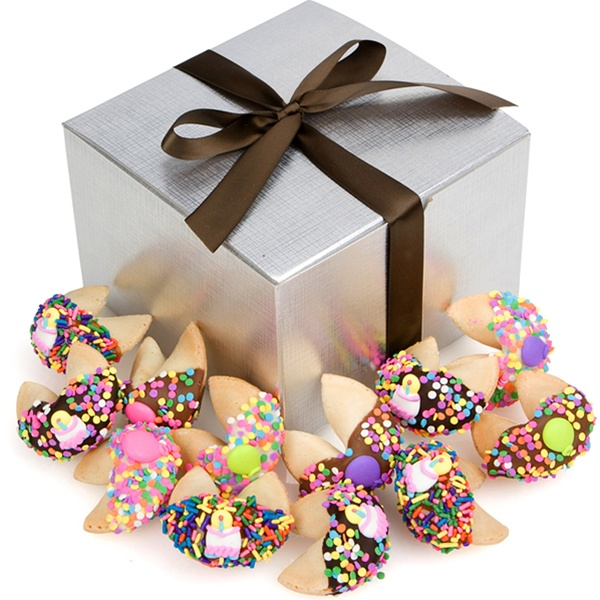 Happy Birthday Fortune Cookies Gift Box Of 48