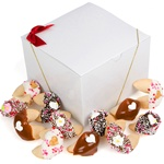 Wedding Fortune Cookies -Gift Box of 24