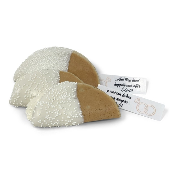 Fortune Taco Cookies- Hand DIpped & Decorated With Custom Message
