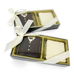 Bride & Groom Chocolate Graham Crackers Gift Box