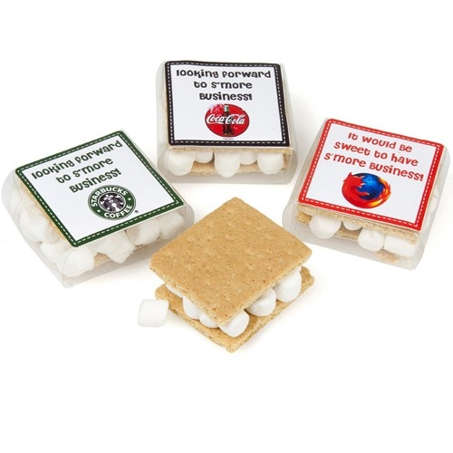 "Leave them wanting ""S'more"" with Lady Fortunes Gourmet S'mores individually boxed!"