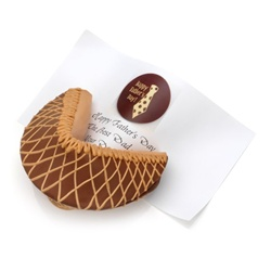 Chocolate Peanut Butter Baby Giant Fortune Cookie