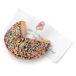 Confetti Baby Giant Fortune Cookie