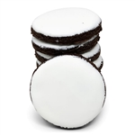 Round Coca Hand Iced Cookie