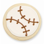 Baseball Cookie Favor