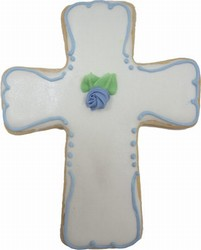 Christening Iced Sugar Cookie Favors