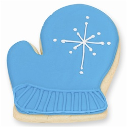 Blue Mitten Cookie Favor