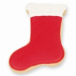 Red Stocking Cookie Favor