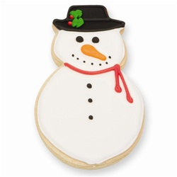 Christmas Cheer Snowman Cookie Favor
