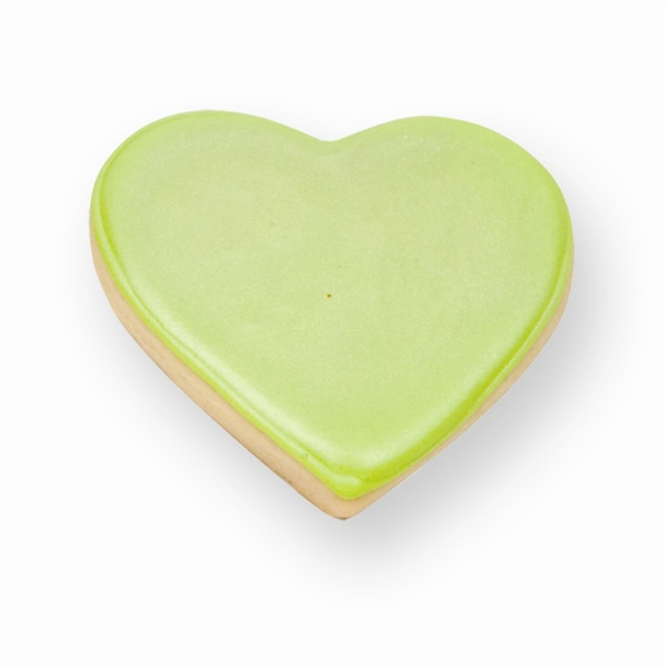 decorated shortbread cookies.htm green heart cookie favor  green heart cookie favor