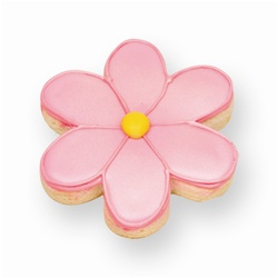 Pink Daisy Cookie Favor