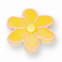 Yellow Daisy Cookie Favor