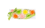 Citrus Mini Cookie Clear Gift Box- 10 pc