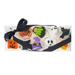 Halloween Celebration Mini Cookie Clear Gift Box- 10 pc