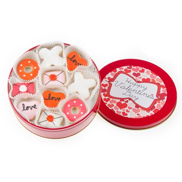 Love Mini Cookie Tin of 16