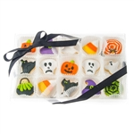 Halloween Mini Cookie Clear Gift Box- 15 pc