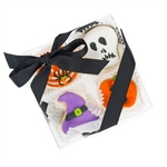 Halloween Mini Cookie Clear Gift Box- 4 pc
