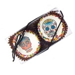 Edible Print (TM) Dia de los Muertos Clear Box of 2 Oreos