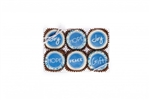 Edible Print (TM) Winter Clear Box of 6 Oreos