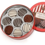 Tin of 16 Classic Chocolate Dipped Oreos®