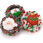 Christmas Dipped & Decorated Oreos®- Individually Wrapped