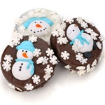 Winter Edition Chocolate Dipped & Decorated Oreos®- Individually Wrapped