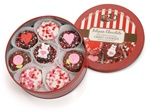 Valentine Tin of 16 Belgian Chocolate Dipped & Decorated Oreos®