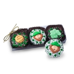 Clear Acrylic Gift Box of 3 St Patrick's Day Oreos®